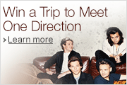 Win a trip to meet One Direction and concert tickets