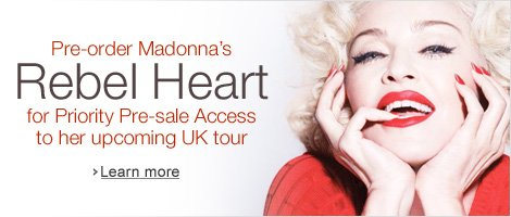 Madonna Ticket Offer