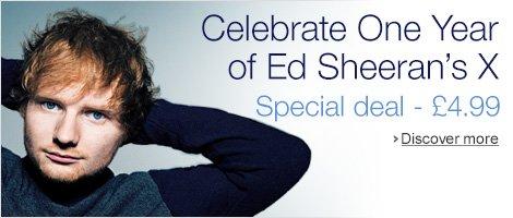 Celebrate One Year of Ed Sheeran's x