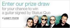 Amazon Prize Draw: Status Quo