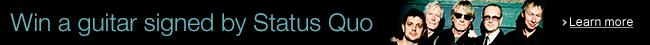 Amazon Music Prize Draw: Status Quo