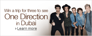 Win a trip to see One Direction in Dubai