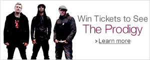 Win tickets to see The Prodigy