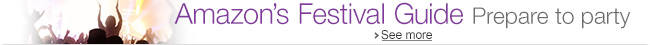 Amazon Music's Guide to Festivals 2015