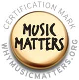 Music Matters certification mark