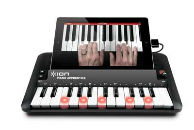 ION Piano Apprentice for iPad with dedicated teaching app