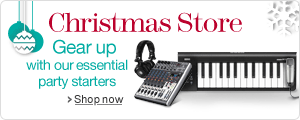 Musical Instruments & DJ Christmas Store