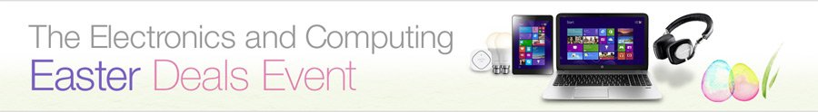 Electronics and Computing Easter Deals