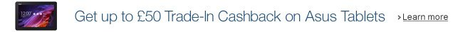 Asus Tablets Trade-In Cashback