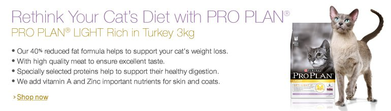 Pro Plan Cat Light Turkey