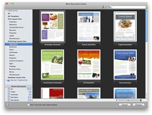 word for mac 2011 create visually rich newsletters