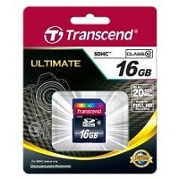 Transcend SD card in traditional packaging