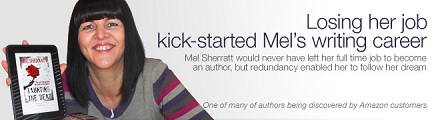 Case study-Mel would never have left her full-time job to become and author but redundancy enabled her to follow her dream