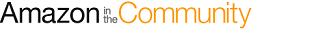 Amazon in the Community logo