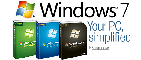 Windows 7 -order now