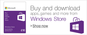 Windows 8 Gift Cards