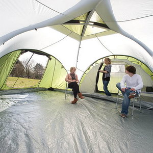 Breathable inner tent material - ideal for allowing fresh air in. And this means the tent has an ideal climate in all weathers! The vents provide direct ... & Skandika Monaco Six Man Family Tent: Amazon.co.uk: Sports u0026 Outdoors