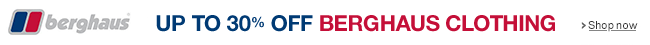 Up to 30% Off Berghaus Clothing