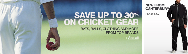 Gear up for cricket