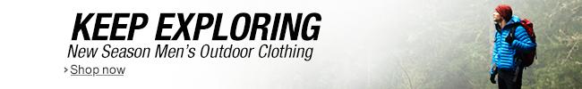 New Season Men's Outdoor Clothing