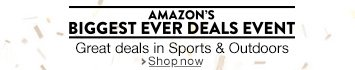 Amazon's Biggest Ever Deals Event in Sports & Outdoors