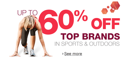 Up to 60% Off in Sports & Outdoors