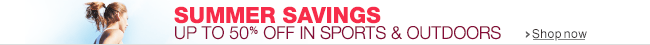 Summer Savings in Sports & Outdoors
