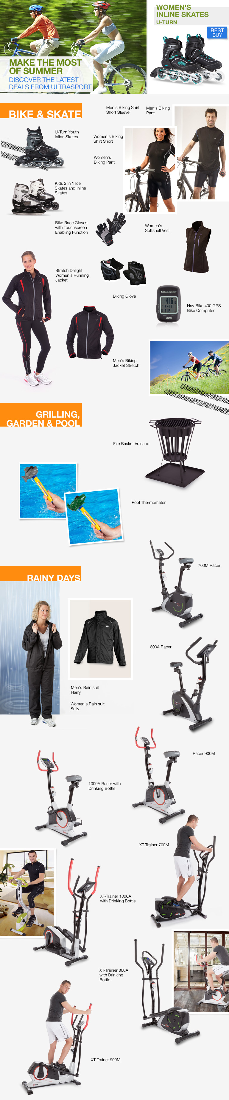 Latest Deals from Ultrasport