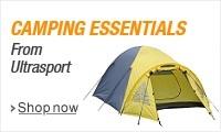 Camping Essentials from Ultrasport