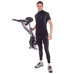 Ultrasport F-Bike exercise bike with pulse sensor grips, foldable - Weitere Features