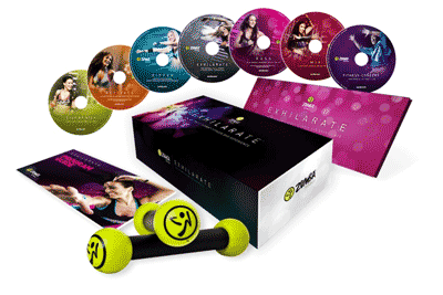 ZumbaExhilarateBoxContents
