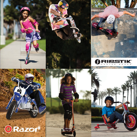 Razor Scooters, Ripstik and Electric Ride-Ons