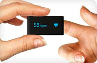 Withings measuring heart rate in a heartbeat
