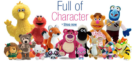 Shop Favourite Characters in the Soft Toys Store