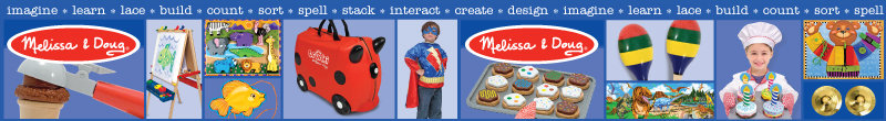 Welcome to the Melissa & Doug Store at Amazon.co.uk