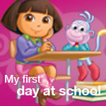 Dora the Explorer My First Day at School
