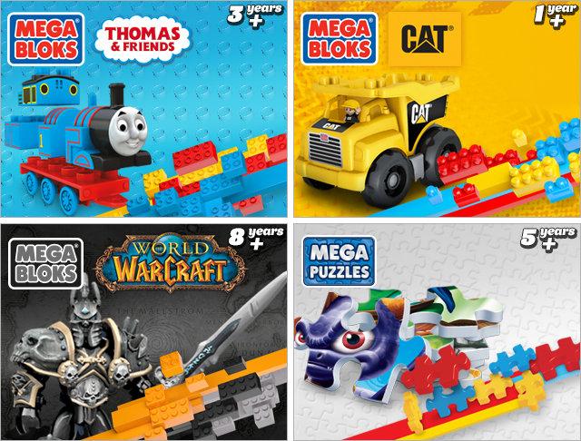 Mega Bloks themes 3
