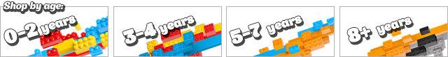 Mega Bloks by Age