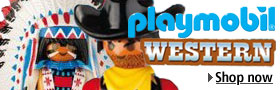 New from Playmobil Western