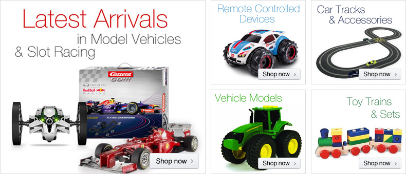 Model Vehicles & Slot Racing
