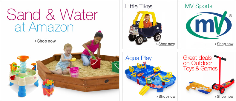 Sand and Water at Amazon