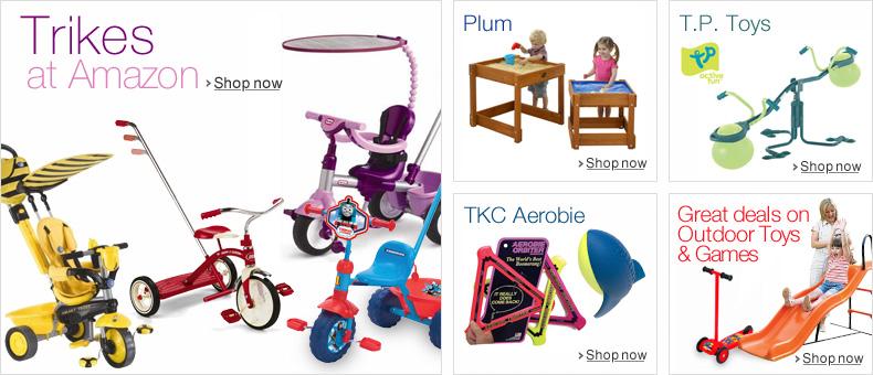 Trikes at Amazon