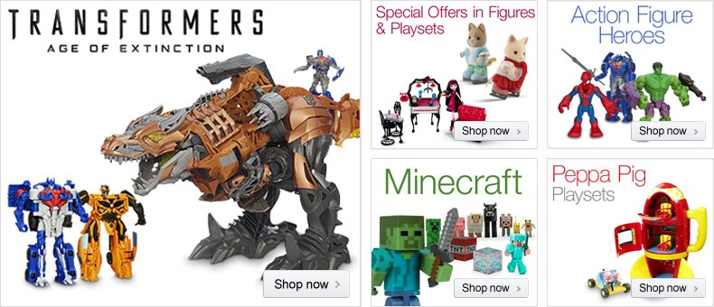 August in Toys & Games