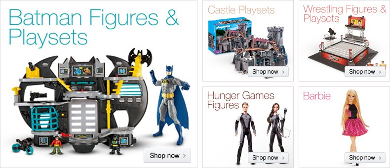 December Toys Figures & Playsets
