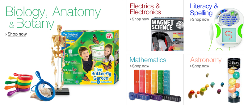 Discover Education & Science Play at Amazon.co.uk