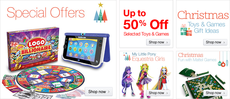 Toys Special Offers