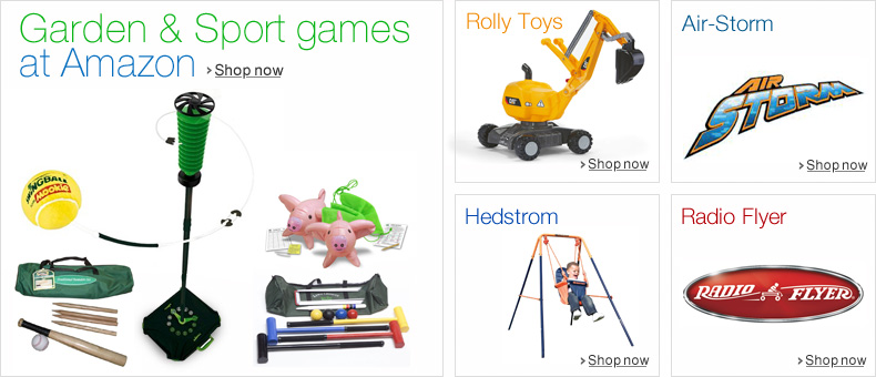 Garden & Sports games at Amazon