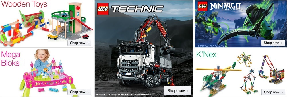 Building & Construction Toys at Amazon.co.uk
