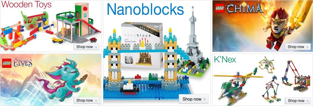 Building & Construction Toys at Amazon.co.uk