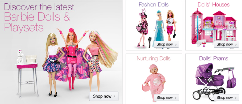 Discover Dolls at Amazon.co.uk